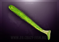 Crazy Fish VIBRO WORM kiwi