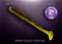 Crazy Fish VIBRO WORM chart swamp