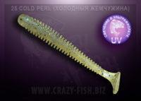 Crazy Fish VIBRO WORM cold perl