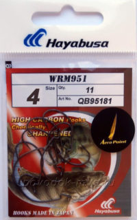 Крючки Hayabusa офсет WRM951 №4