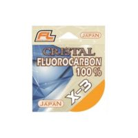 Леска флюорокарбон FL CRISTAL X-3 15м/0,381мм