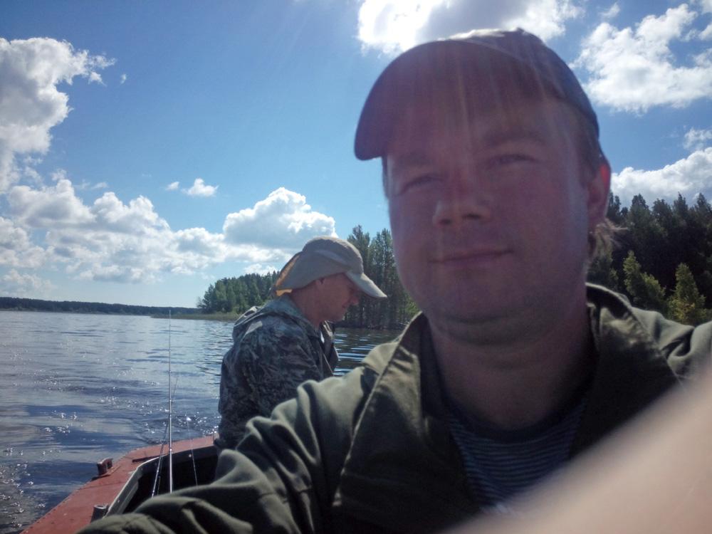 рыбалка на Рыбинке